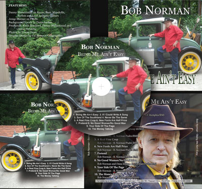Bob Norman CD inserts by Caligraphics